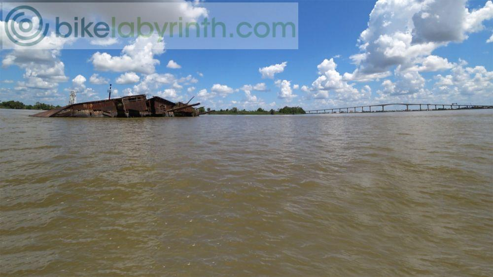 Suriname River - On water